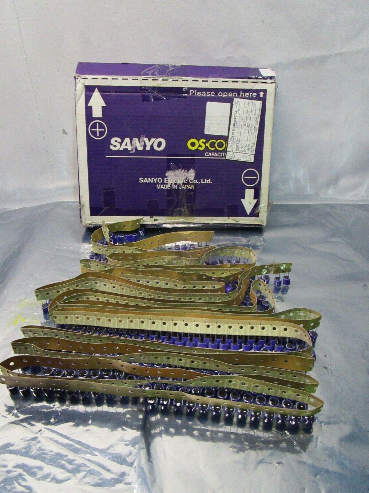 1 Lot of 462 Sanyo 270uF OS-CON Capacitor, 16V, 102553