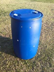 44 Gallon Drum. Plastic. Fixed end. Ipswich Ipswich City Preview