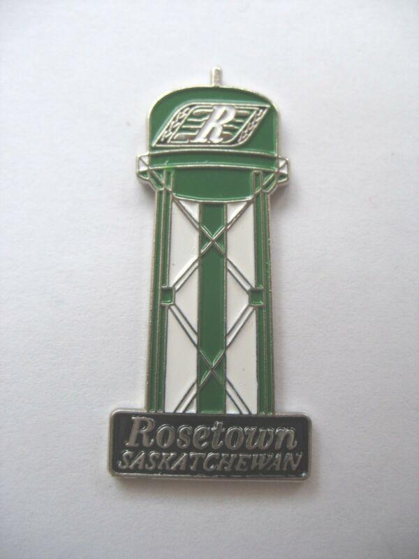 SASKATCHEWAN TOWN LAPEL PIN - ROSETOWN - Water Tower