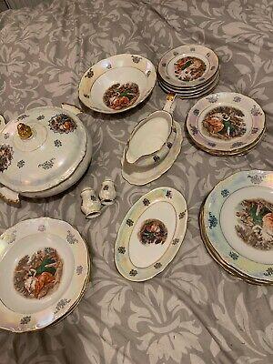 """Vintage Kahla """"Madonna"""" Porcelain Dinner Set"""