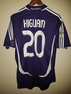 9ef7a9423bf Camiseta De Futbol Real Madrid Pipita Higuain 20 adidas cristiano Ronaldo  zidane