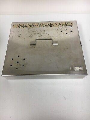Codman 50-1635 Stainless Steel Storage Case 13 X 11-14 X 2