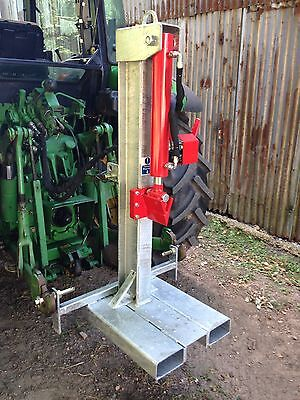 Hydraulic Log Splitter - Tractor 3 Point Linkage Mounted