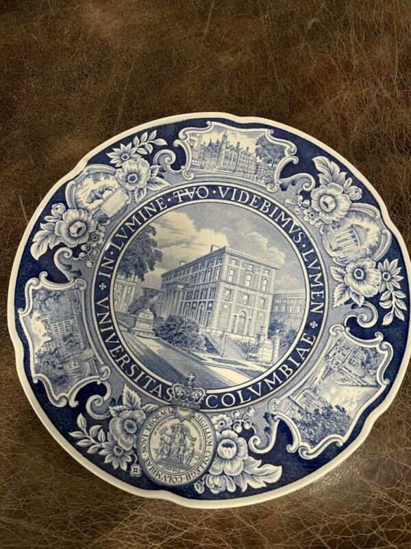 Antique 1932 Columbia Law School Wedgwood Plate