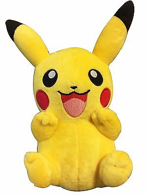 """8"""" Pokemon Pikachu With Arms Up Pocket Monster Plush Toy Stuffed Doll"""