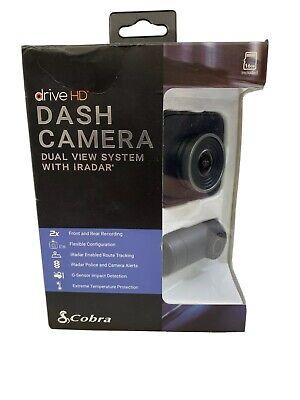 Cobra Drive HD Dash Camera Dual View System with iRadar #7511