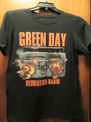 Green Day- Revolution Radio Lic.- Black T-Shirt- Small