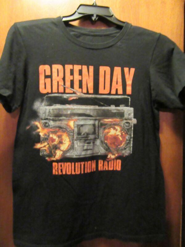Green Day- Revolution Radio Lic.- Black T-Shirt- Small