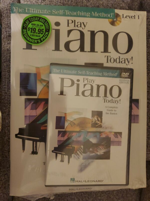 Play Piano Today Hal Leonard Instruction book/CD self  teaching method level1