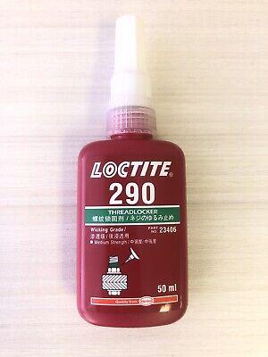 Loctite 290 Green Medium High Strength Threadlocker 50ml