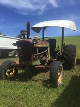 John deer tractor 2010 and slasher Elermore Vale Newcastle Area Preview