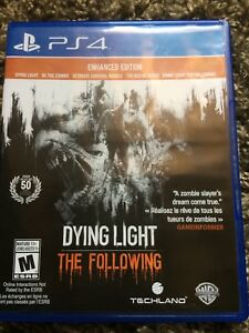 PS4 Dying Light + The Following Enhanced Edition