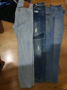 4x Mens Jeans 34