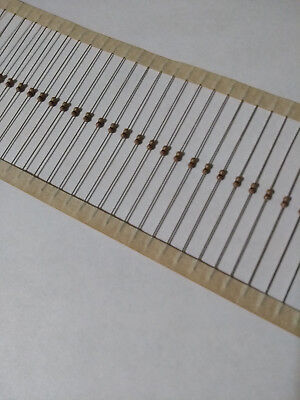 100pcs 2 Ohm Carbon Film Resistor 14w .25w 5