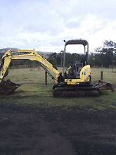 Yanmar vio35-5 excavator Marburg Ipswich City Preview