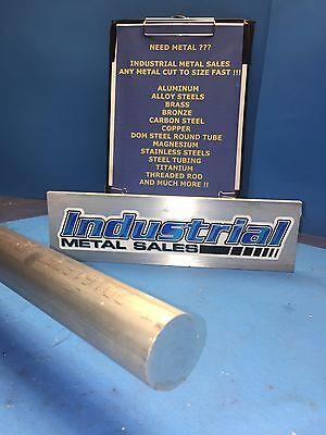 1-14 Diameter X 12-long 6061 T6 Aluminum Round Bar--1.250 Diameter Rod