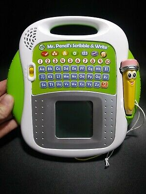 LeapFrog Mr. Pencil's Scribble and Write learn alphabet letters writing numbers