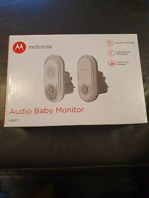 Motorola Audio Baby Monitor MBP7