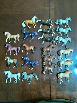 Breyer stablemates 70th Anniversary horse and unicorn lot of 21
