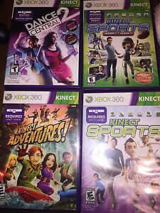 Kinect Xbox Games