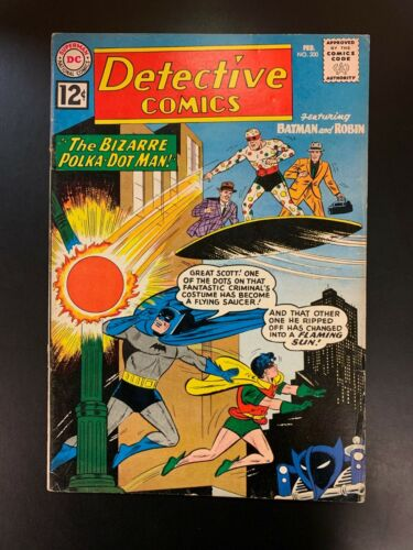 DETECTIVE COMICS #300  - 1st App POLKA-DOT MAN -  FN   Glossy and Great Colors
