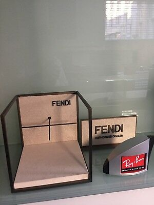 FENDI/Rayban LOGO PLAQUE -3 pieces as shown