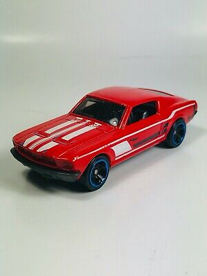 Hot Wheels '67 Ford Mustang GT Fastback Red 1:64 Diecast Loose