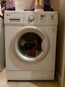 LG 7kg Front Loader Washing Machine Naremburn Willoughby Area Preview