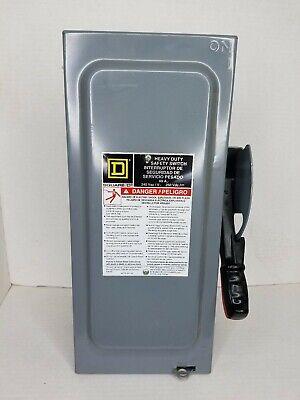 Square D H222n 60a 240v Nema 1 Heavy Duty Safety Switch