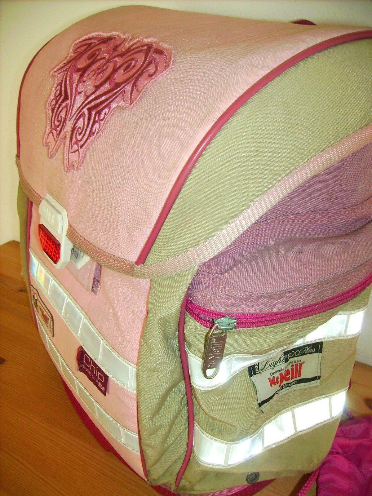 McNeil Mädchen Schulranzen mit Sporttasche rosa