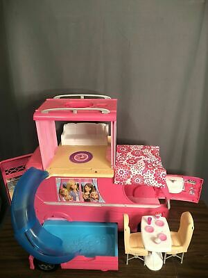 Barbie Dream Camper Van RV Motor Home With Pool And 2nd Story