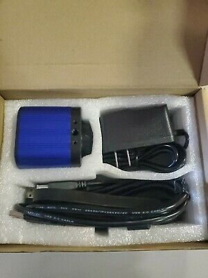 14mp Tv Hdmi Usb Industry Digital C-mount Microscope Camera Tf Video Recoder ...