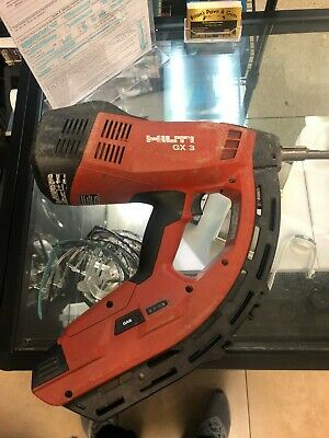 Hilti Gx3 Gas Powered Professional Actuated Fastener Nail Gun