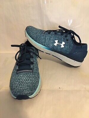 Womens Under Armour Bandit 3 Blue Running Shoes Size 8.5