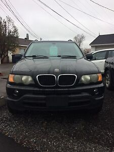 2003 BMW X5 3.0I safety and E-test included