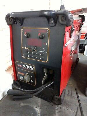 Lincoln Electric Powerwave C300 Multi-process Power Source Welder Tig Mig