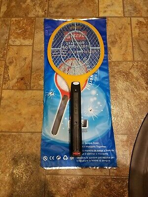 Tennis Racket Electronic Fly swatter Mosquito Insect (Electronic Handheld Insect Zapper)