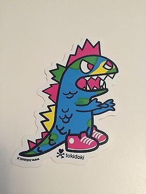 tokidoki sticker - Kaiju Colors