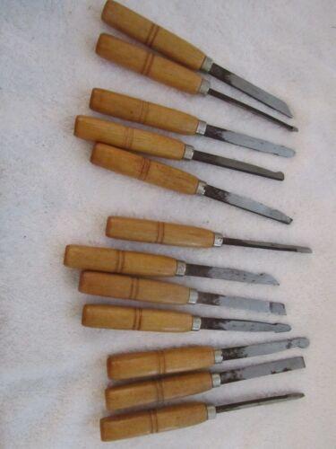 Set of 12  Brookstone Wood Carving Tools