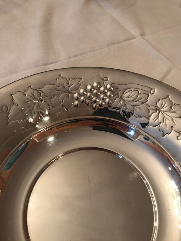 LARGE SILVER BOWL, ITALIAN MARKED 800