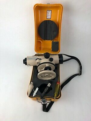 David White Instruments Auto Survey Level Al8-25 With Case Plumb Made In Japan