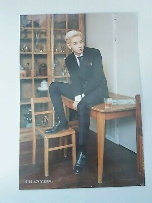 K-POP EXO ChanYeol Limited Poster - Official New 2020 SEASON'S GREETINGS