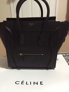 Celine luggage - black