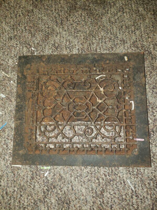 Antique Grate 14x12 Victorian castiron