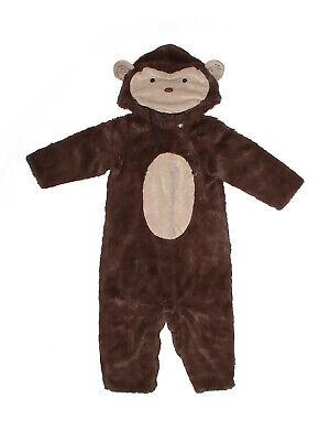 Toddler Girl Boy Pottery Barn Kids Brown Monkey Costume Size 12/24  Months