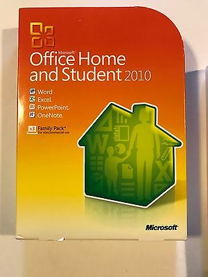 Microsoft Office Home and Student 2010 Family Pack 3 User 100% (Microsoft Office 2010 Home And Student 3 User)