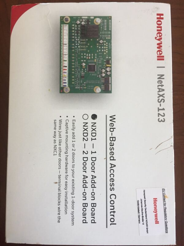 HONYWELL NetAXS-123 NXD1 Access Control 1 Door Add-On Board