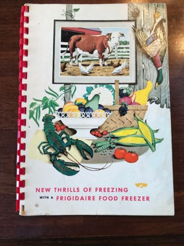 The New Thrills of Freezing Frigidaire Food Freezer 1955 Vin