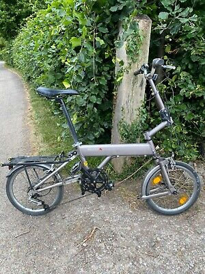 Mezzo alloy folding bike, used. Gears and brakes working.
