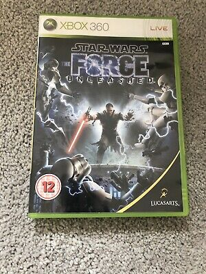 Star Wars: The Force Unleashed (Microsoft Xbox 360, 2008)